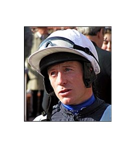 Jockey Kierin Fallon, who has applied for a license to ride in Kentucky.