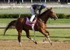 Oaks candidate High Again breezes at Churchill