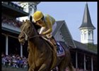 Monarchos, winning the Kentucky Derby.