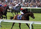 Good Ba Ba winning the 2008 Cathay Pacific Hong Kong Mile (HK-I) at Sha Tin.