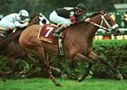 Perfect Sting captures the Diana Handicap at Saratoga on Monday, the closing day of the 2000 season. Bailey finished the meeting with 50 victories to break the record of 48 he set in 1997.