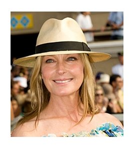 Bo Derek chairs the CHRB's safety committee.