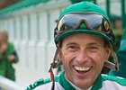 Jockey Russell Baze won five races at Bay Meadows April 3.
