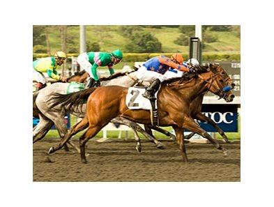 "Mona de Momma captures the Las Flores Handicap at Santa Anita.<br><a target=""blank"" href=""http://www.bloodhorse.com/horse-racing/photo-store?ref=http%3A%2F%2Fpictopia.com%2Fperl%2Fgal%3Fprovider_id%3D368%26ptp_photo_id%3D8875596%26ref%3Dstory"">Order This Photo</a>"