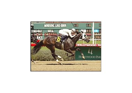 Sans blinkers, Wacky Patty won the Landaluce Stakes.