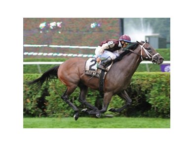 "Justenuffhumor fights to win the 2009 Fourstardave Handicap at Saratoga.<br><a target=""blank"" href=""http://www.bloodhorse.com/horse-racing/photo-store?ref=http%3A%2F%2Fpictopia.com%2Fperl%2Fgal%3Fprovider_id%3D368%26ptp_photo_id%3D8379938%26ref%3Dstory"">Order This Photo</a>"