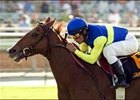 Yellow Ribbon winner Megahertz will be sold at Keeneland next month.