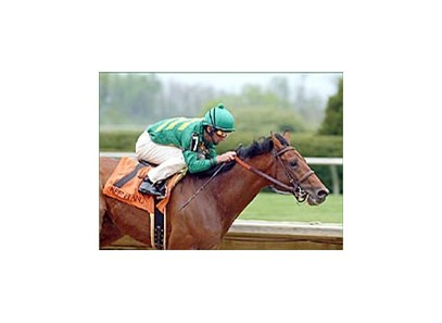 Midway Road, winning Keeneland's Ben Ali Handicap earlier this year.