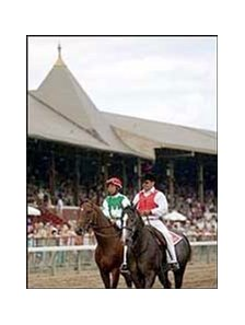 Afleet Alex, shown at Saratoga this summer, could race again in two weeks.