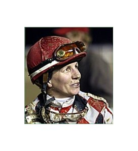 Retired jockey Pat Cooksey will make her second appearance against a Cincinnati Bengals wide receiver on June 9.