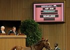 Tell It brought $540,000 during the third session of the Keeneland November breeding stock sale.