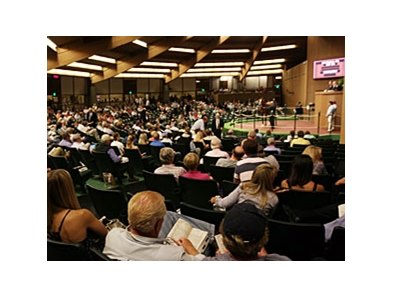 The Keeneland September yearling sale saw average and median price increases for the third year in a row.