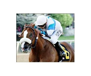 Bordonaro went gate to wire to win the Count Fleet Sprint Handicap at Oaklawn in April.