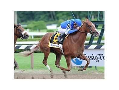 "Flashing flies home in the Test at Saratoga.<br><a target=""blank"" href=""http://www.bloodhorse.com/horse-racing/photo-store?ref=http%3A%2F%2Fpictopia.com%2Fperl%2Fgal%3Fprovider_id%3D368%26ptp_photo_id%3D8393558%26ref%3Dstory"">Order This Photo</a>"