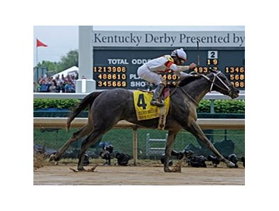 "Four Gifts headlines the inaugural Charles Town Oaks.<br><a target=""blank"" href=""http://www.bloodhorse.com/horse-racing/photo-store?ref=http%3A%2F%2Fpictopia.com%2Fperl%2Fgal%3Fprovider_id%3D368%26ptp_photo_id%3D8063250%26ref%3Dstory"">Order This Photo</a>"