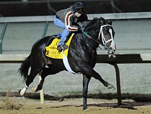 Flat Out Impresses in Oct. 30 Morning Workout