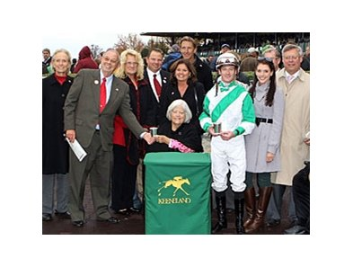Jockey Julien Leparoux and owners Ken and Sarah Ramsey dominated the season.
