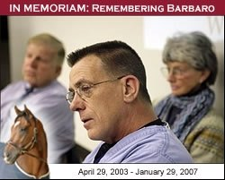 Richardson: Barbaro's Life Ended Peacefully