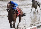 "Music Note splashes to victory in the Ballerina.<br><a target=""blank"" href=""http://www.bloodhorse.com/horse-racing/photo-store?ref=http%3A%2F%2Fpictopia.com%2Fperl%2Fgal%3Fprovider_id%3D368%26ptp_photo_id%3D8443348%26ref%3Dstory"">Order This Photo</a>"