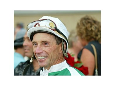 Hall of Fame jockey Russell Baze's next milestone target is 11,000 career wins.