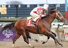 "Kodiak Kowboy surges to a Carter win.<br><a target=""blank"" href=""http://www.bloodhorse.com/horse-racing/photo-store?ref=http%3A%2F%2Fpictopia.com%2Fperl%2Fgal%3Fprovider_id%3D368%26ptp_photo_id%3D7980337%26ref%3Dstory"">Order This Photo</a>"