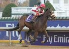 "Round Pond wins a somber Emirates Airline Distaff victory.<br><a target=""blank"" href=""http://www.bloodhorse.com/horse-racing/photo-store?ref=http%3A%2F%2Fpictopia.com%2Fperl%2Fgal%3Fprovider_id%3D368%26ptp_photo_id%3D634057%26%26ref%3Dstory"">Order This Photo</a>"