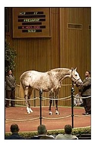 Unbridled Elaine, topped Keeneland sale session at $4.4 million.