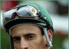 Jockey John Velazquez, rides at Monmouth Park Friday.