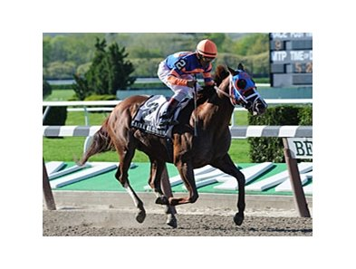 "Caixa Eletronica and Cornelio Velasquez upset the Westchester Stakes.<br><a target=""blank"" href=""http://www.bloodhorse.com/horse-racing/photo-store?ref=http%3A%2F%2Fpictopia.com%2Fperl%2Fgal%3Fprovider_id%3D368%26ptp_photo_id%3D9509493%26ref%3Dstory"">Order This Photo</a>"