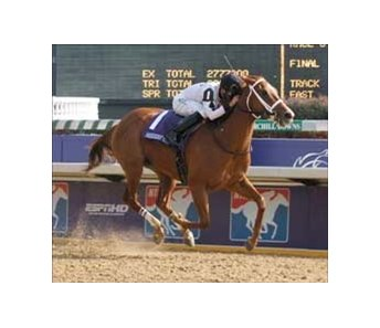 "Dreaming of Anna wins Juvenile Fillies.<br><a target=""blank"" href=""http://www.bloodhorse.com/horse-racing/photo-store?ref=http%3A%2F%2Fpictopia.com%2Fperl%2Fgal%3Fprovider_id%3D368%26ptp_photo_id%3D633856%26ref%3Dstory"">Order This Photo</a>"