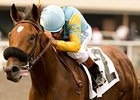 Rigoletta in the Oak Leaf Stakes.