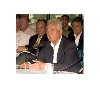 Frank Stronach at the California Horse Racing Board meeting, Tuesday, June 19th.