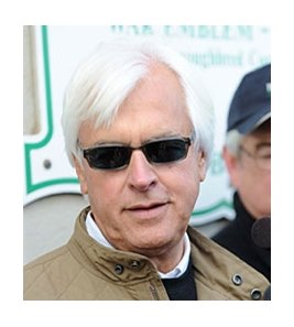 Bob Baffert commenting on his horses this morning.