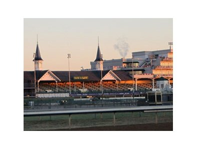 The day began beautifully for Breeders' Cup Saturday.