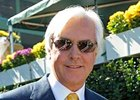 Trainer Bob Baffert sends out Misremembered in the Affirmed.