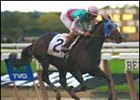 Aptitude posted his third straight triumph in taking the Jockey Club Gold Cup.