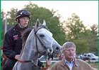 Tapit, with trainer Michael Dickinson.