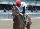 To Honor and Serve won his 2012 debut in the one-mile Westchester Stakes at Belmont April 28.