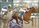 Kentucky Derby winner Funny Cide got back on the winning track in the Excelsior.
