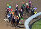 2015 Kentucky Oaks Race Sequence