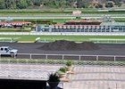 Santa Anita track resurfacing.
