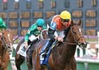 "Banned storms home to win the American Turf. <br><a target=""blank"" href=""http://www.bloodhorse.com/horse-racing/photo-store?ref=http%3A%2F%2Fpictopia.com%2Fperl%2Fgal%3Fprovider_id%3D368%26ptp_photo_id%3D9516724%26ref%3Dstory"">Order This Photo</a>"
