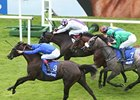 Blue Bunting Lands Irish Oaks Thriller