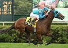 Film Maker gets first stakes win in Lake George.