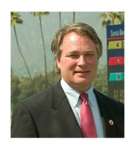 George Haines has been named interim president of Santa Anita Park.