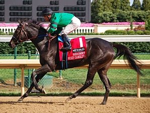 Bizzy Caroline Works Bullet for American Oaks