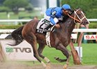 "Be Fair splashes to victory in the Lake George.<br><a target=""blank"" href=""http://www.bloodhorse.com/horse-racing/photo-store?ref=http%3A%2F%2Fpictopia.com%2Fperl%2Fgal%3Fprovider_id%3D368%26ptp_photo_id%3D8377475%26ref%3Dstory"">Order This Photo</a>"