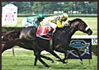 Oswley became the first New York stakes winner for trainer Randy Schulhofer.