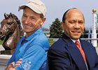 Steve Cauthen and Jorge Velasquez
