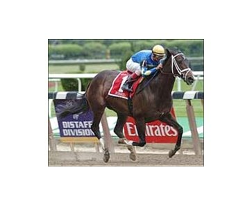 Ashado wins Ogden Phipps, Saturday at Belmont.